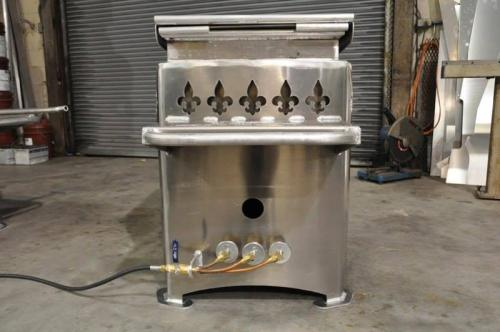 Venable Fabricators deluxe crawfish boiling pot