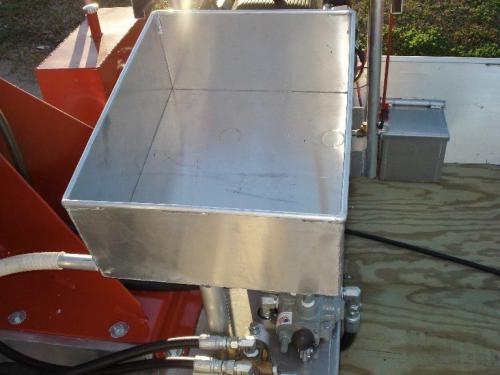 Venable Fabricators bait box for Crawfish boat