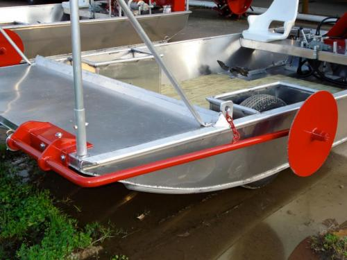 Venable Fabricators wind wheel for Crawfish boat