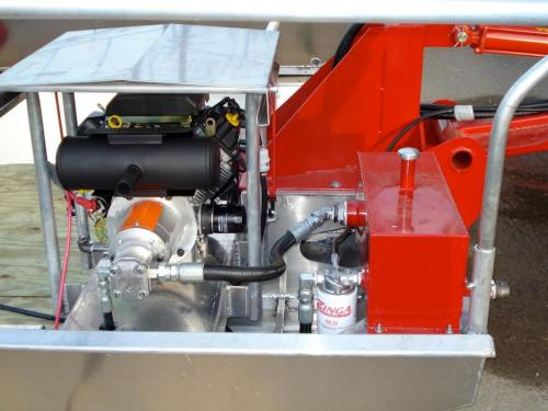 Venable Fabricators engine on Crawfish boat