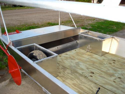 Venable Fabricators front of Crawfish boat