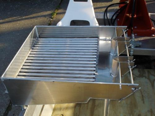 Venable Fabricators grader sacker for Crawfish boat