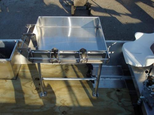 Venable Fabricators plain sacker for Crawfish boat